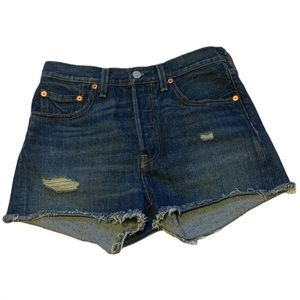 Levi's High Waisted Jean Shorts - Women's Size 27